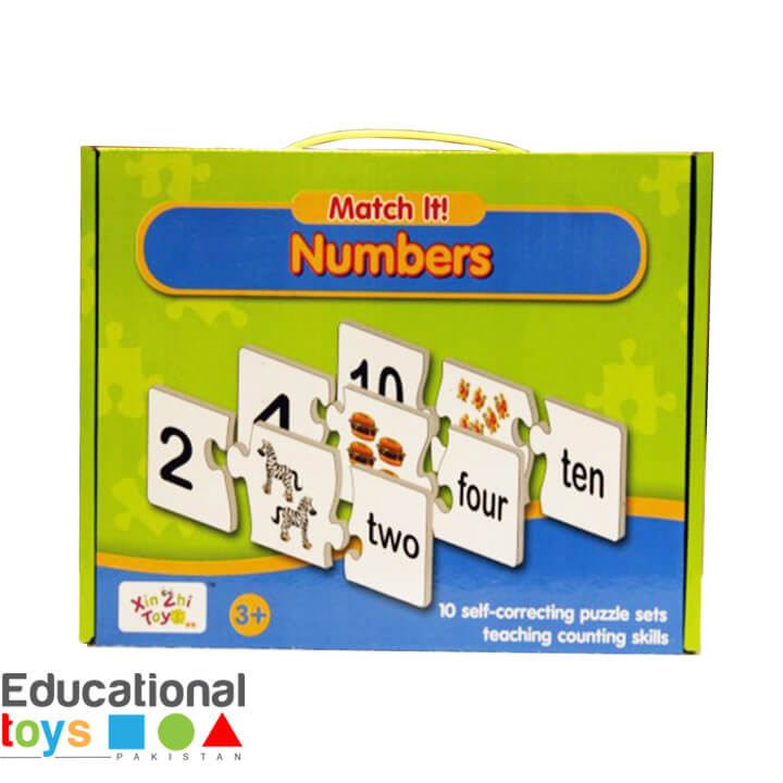 Numbers Match-it Puzzle