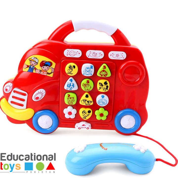 Music Car with Phone set