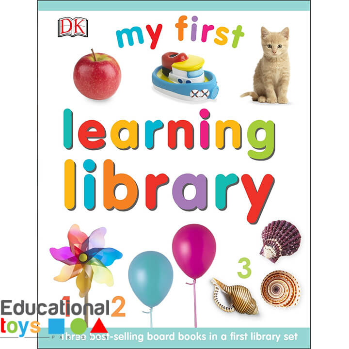 My First Learning Library (Set of 3 Board Books) – Imported