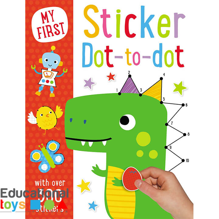My First Sticker Dot to Dot (with 300 stickers)