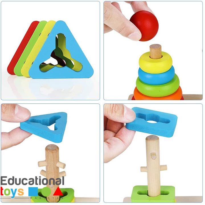 rainbow-three-column-tower-wooden-4