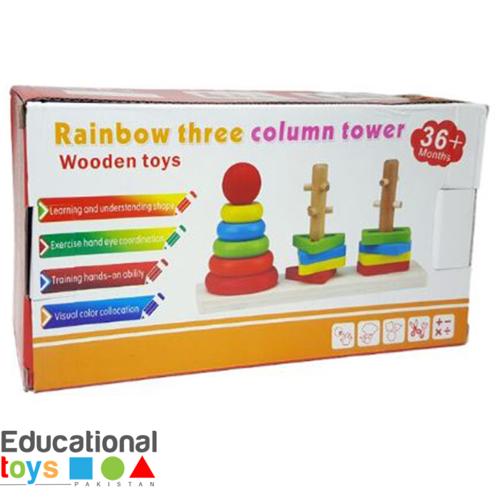 rainbow-three-column-tower-wooden-7