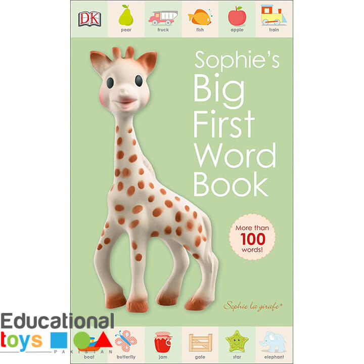 Sophie's Big First Word Book- Board Book