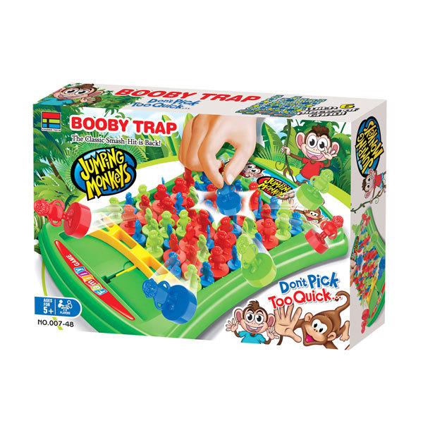 Jumping Monkeys Booby Trap – Family Game