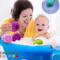 Colourful Soft Baby Blocks