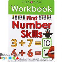 First Numbers Skills Wipeclean Workbook