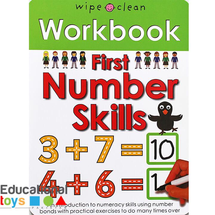 First Numbers Skills (Wipe Clean Workbook)