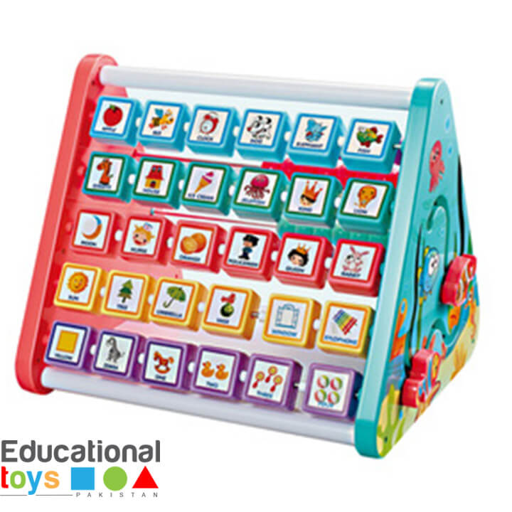5 Sided Multifunctional Learning Shelf (DIY Assembly)