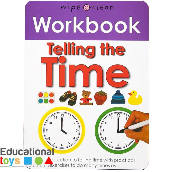 Telling The Time (Wipe Clean Workbook)