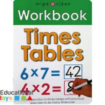 Time Tables Wipe Clean Workbook