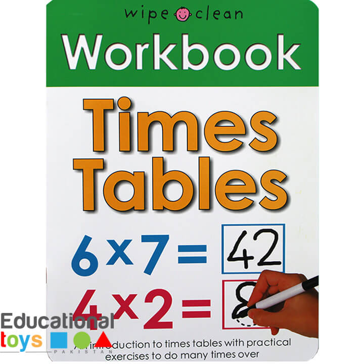 Time Tables (Wipe Clean Workbook)