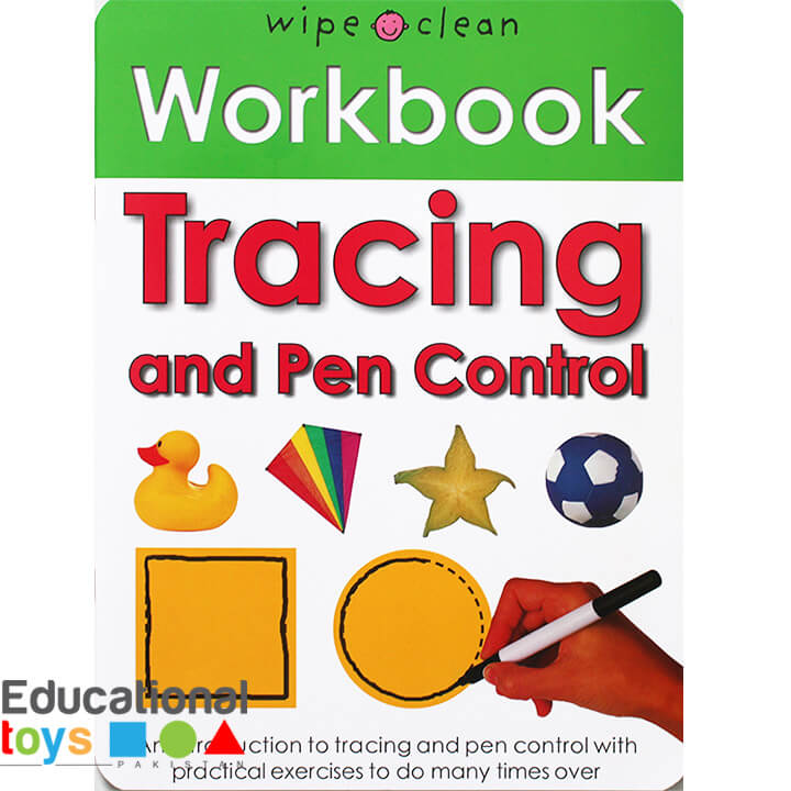Tracing and Pen Control(Wipe Clean Workbook)