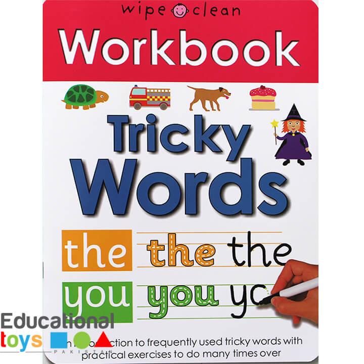 Tricky Words (Wipe Clean Workbook)
