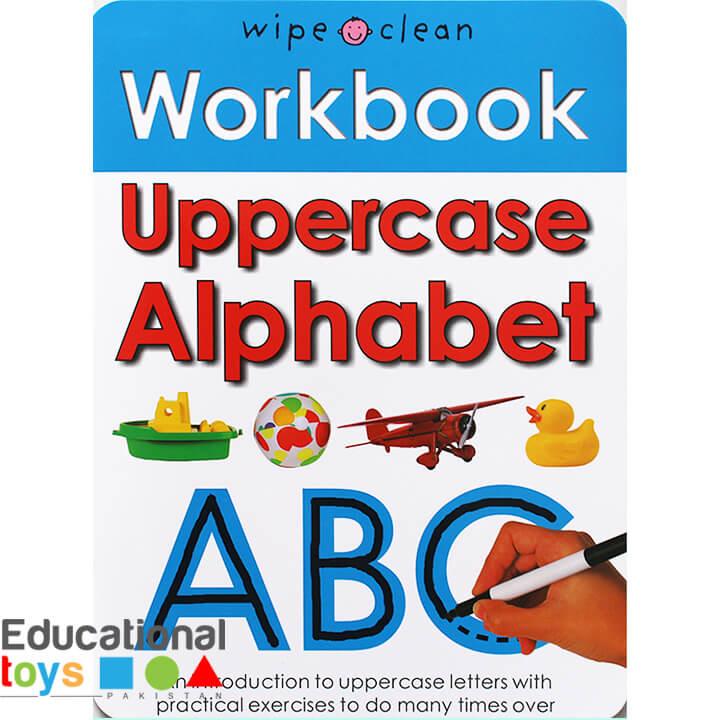 Uppercase Alphabet (Wipe Clean Workbook)