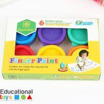 Finger Paints - 6 Bottles Box