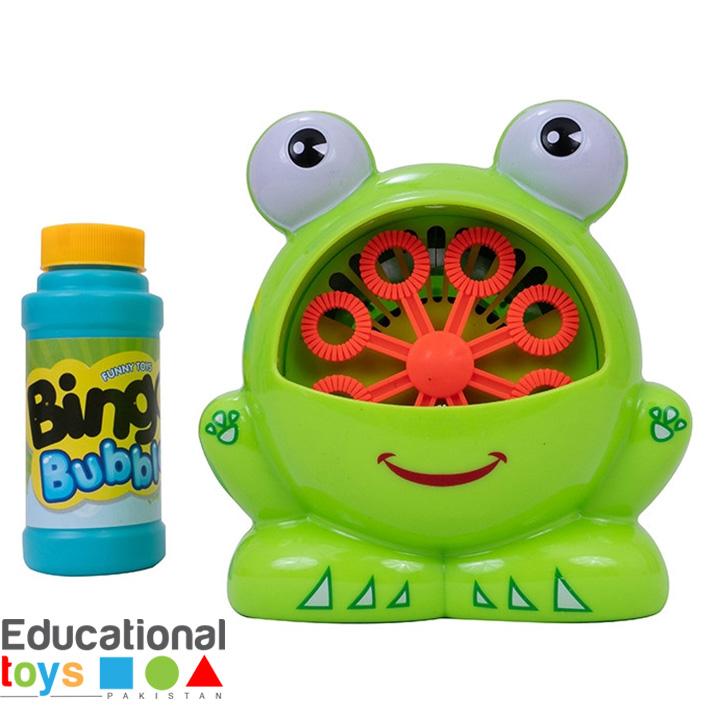 Frog Bubble – Automatic Bubble Machine