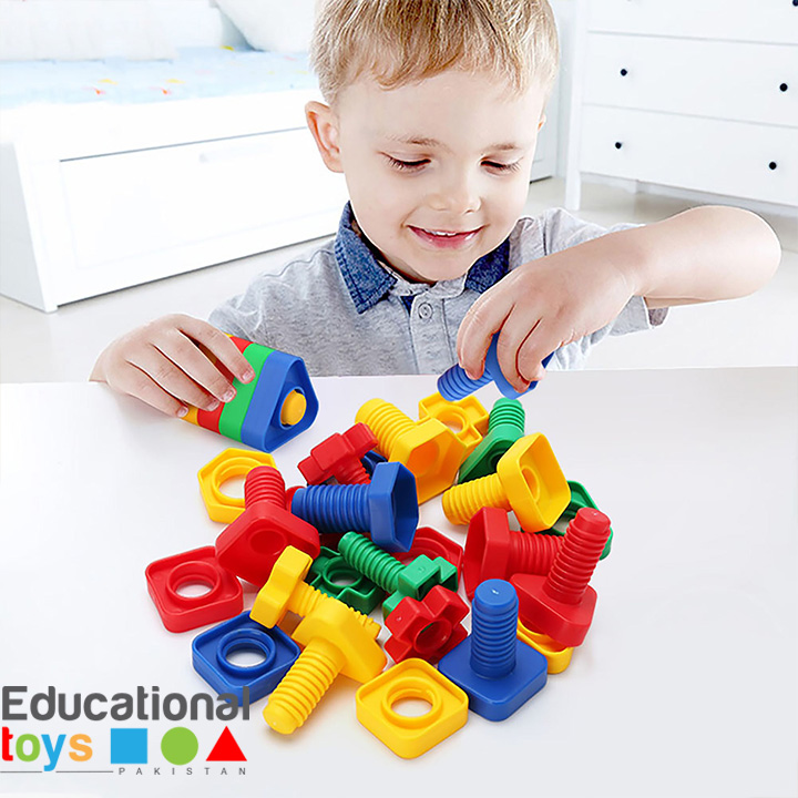 Jumbo Nuts and Bolts for Toddlers