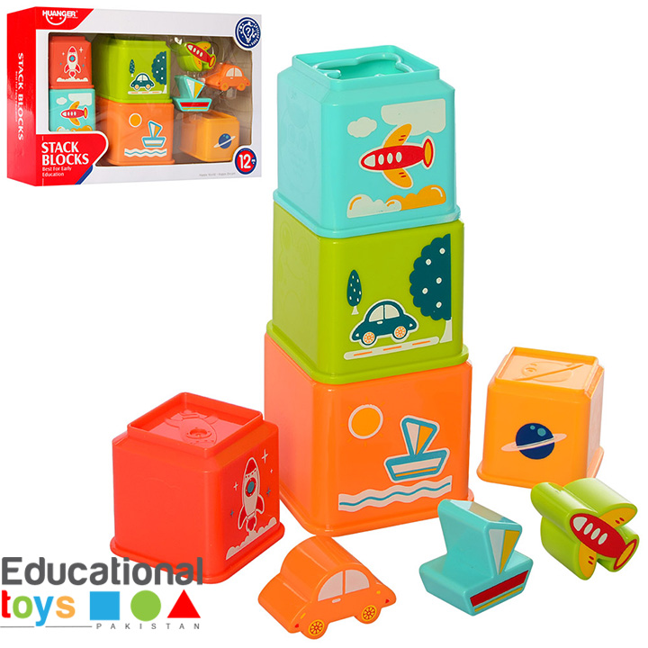 Huanger Stack and Explore Blocks