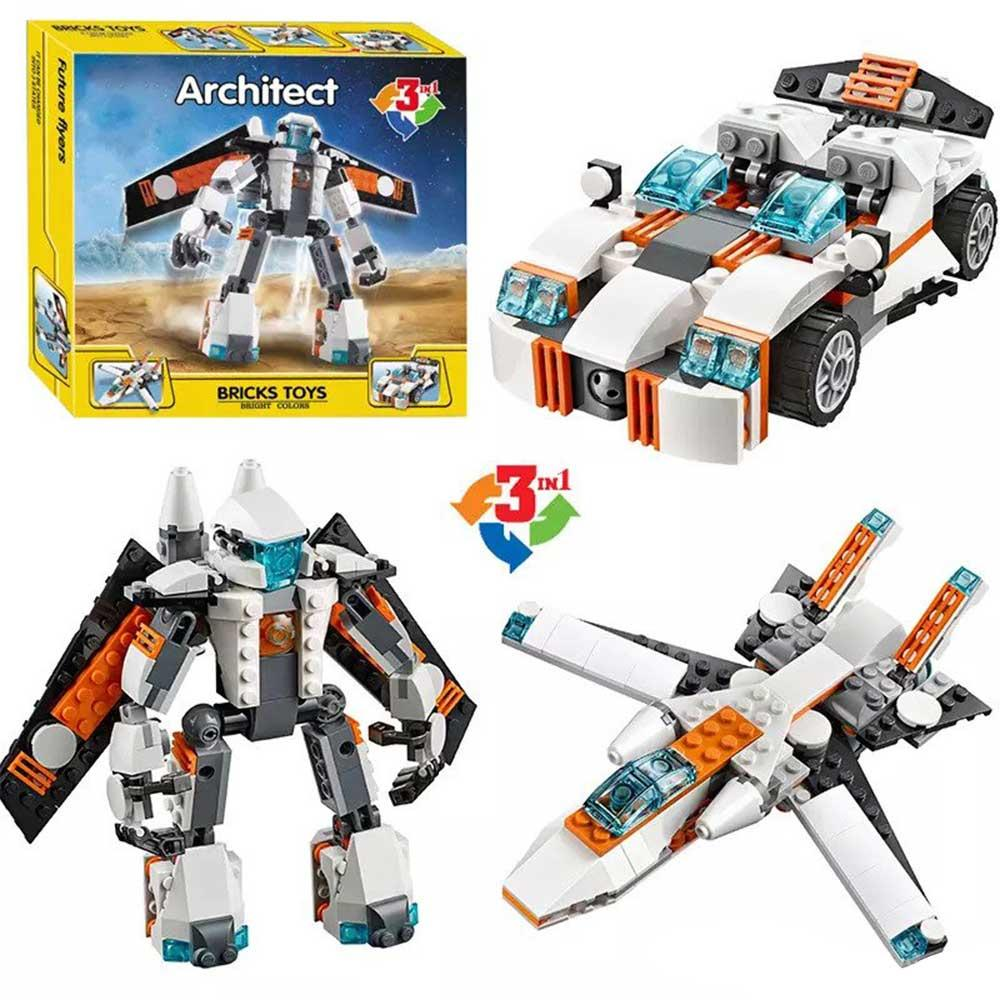 Architect Future Flyers Model 3 – 237 Pieces (3115)
