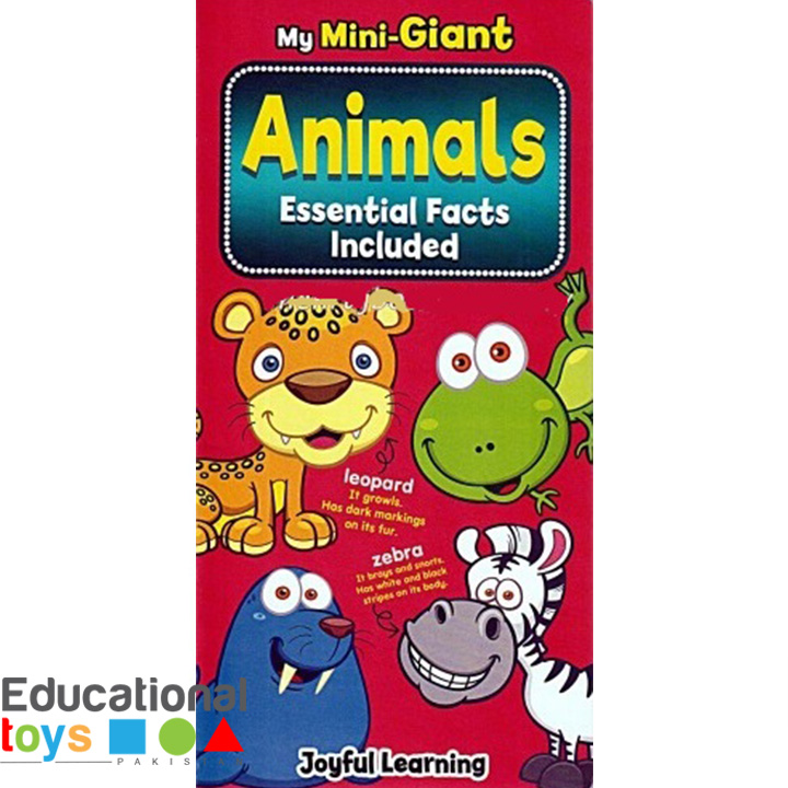 Animals – Essential Facts Included (Board Book)