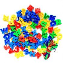 Capital Alphabet Lacing Blocks