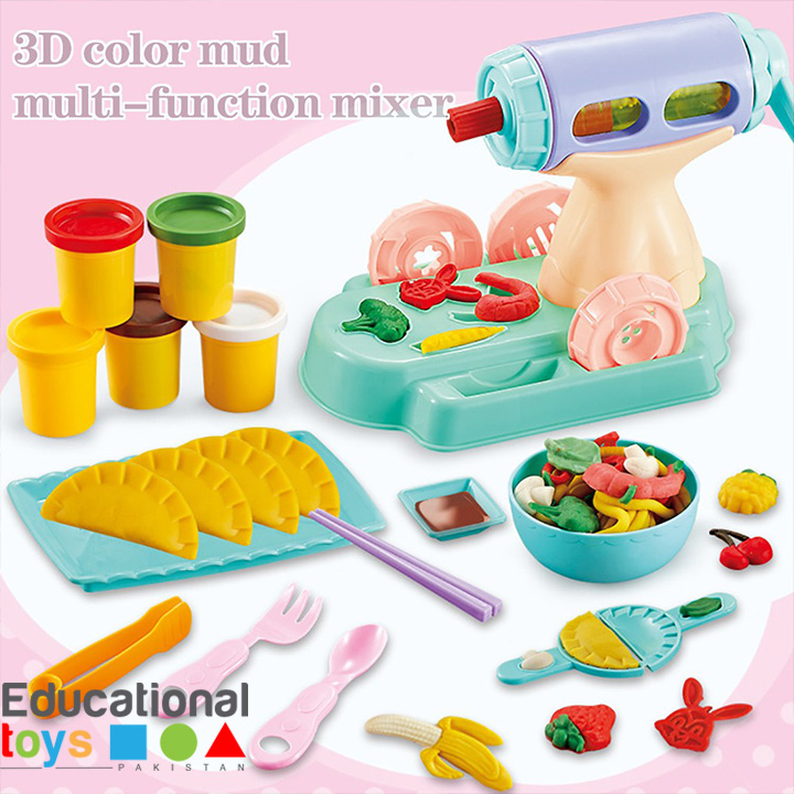 Creative Noodle Maker with 3D Color Mud