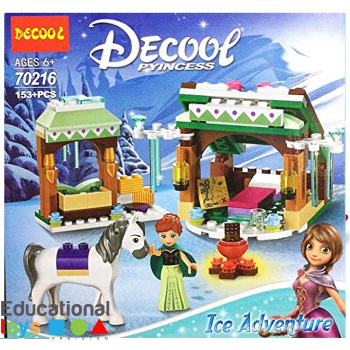 Decool Princess ICE Adventure 153 pcs Blocks (70261)