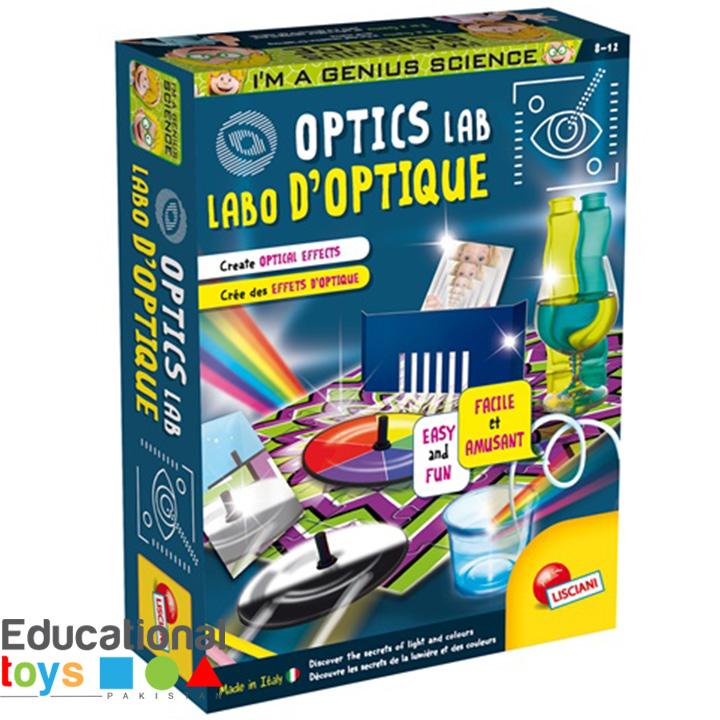 Optics Lab – Lisciani Science Kit