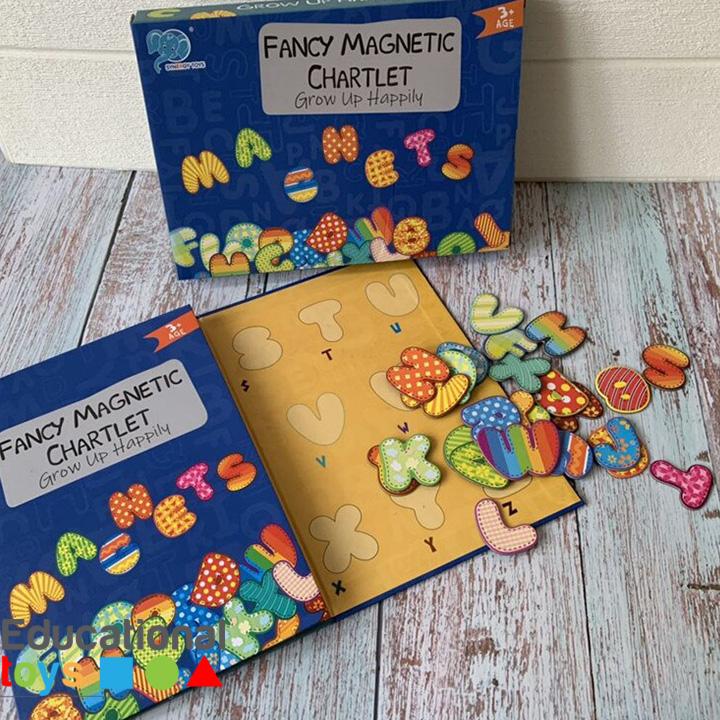 Magnetic Puzzle Chart (Alphabets)