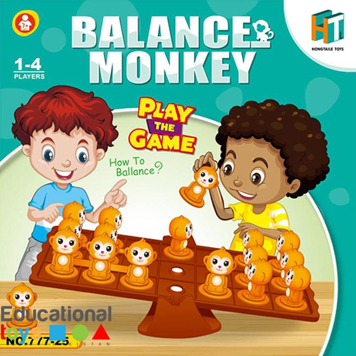 Balance Monkey – Multi Player Puzzle Game