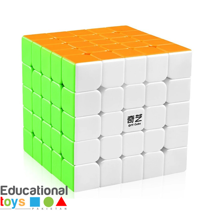 QiYi QiZheng S 5×5 Stickerless Speed Cube