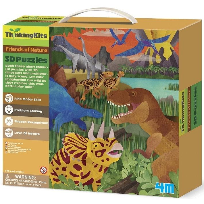 Thinking Kits: 3D Floor Puzzle – Dinosaurs