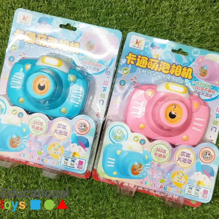 Camera Bubble Toy – Automatic Bubble Machine