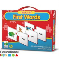 Match It First Words Puzzle