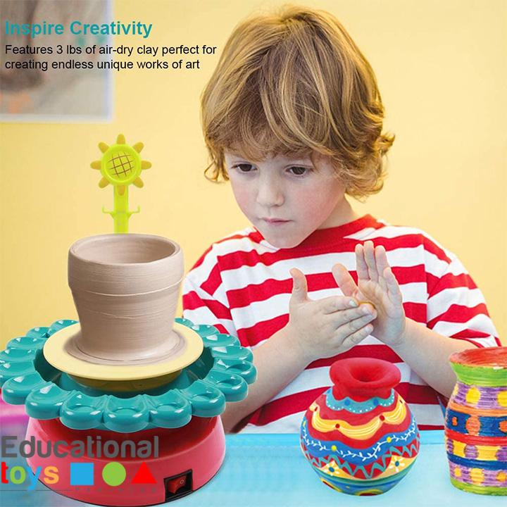 sunflower-pottery-wheel-1