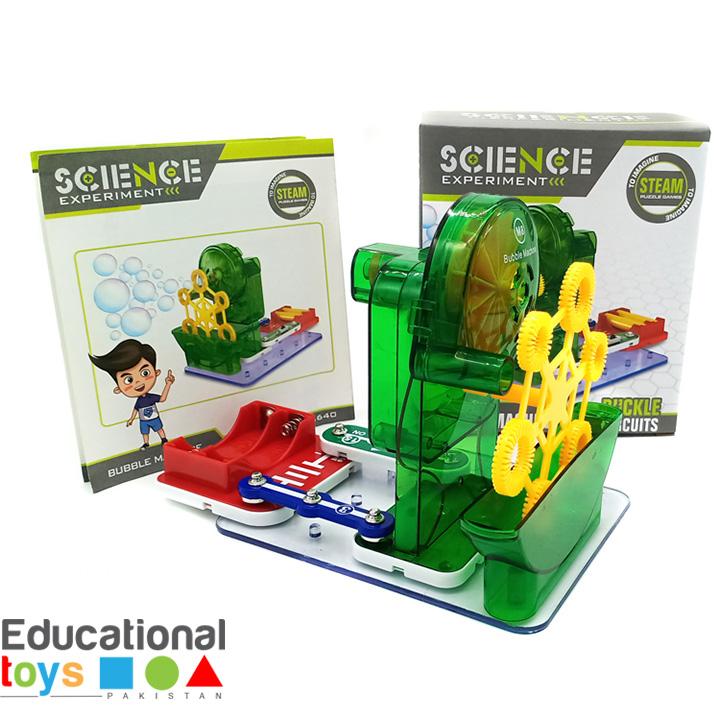 Bubble Machine – Science Experiment Kit for Kids