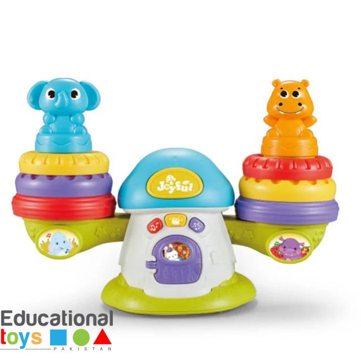 Chimstar Rocking Ringtoss Baby Toy