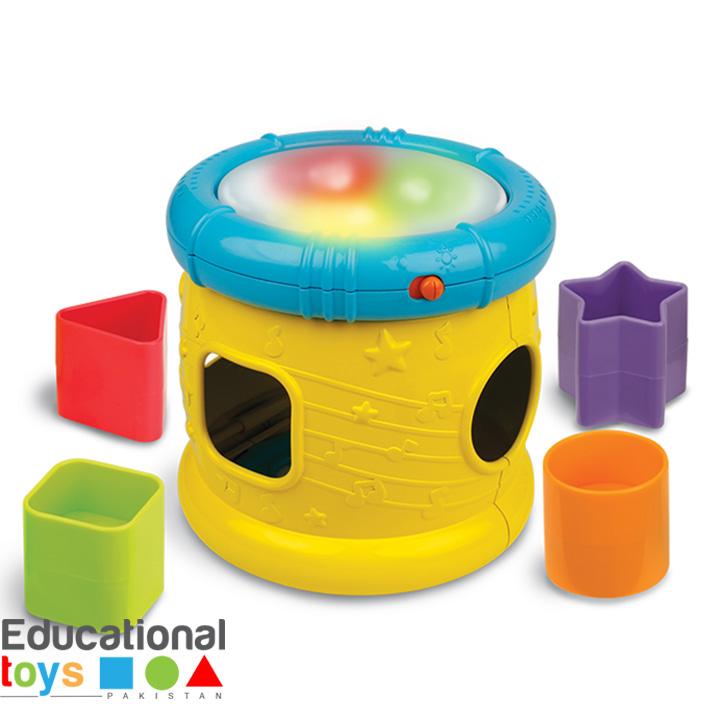 Winfun Sort 'N Fun Musical Drum