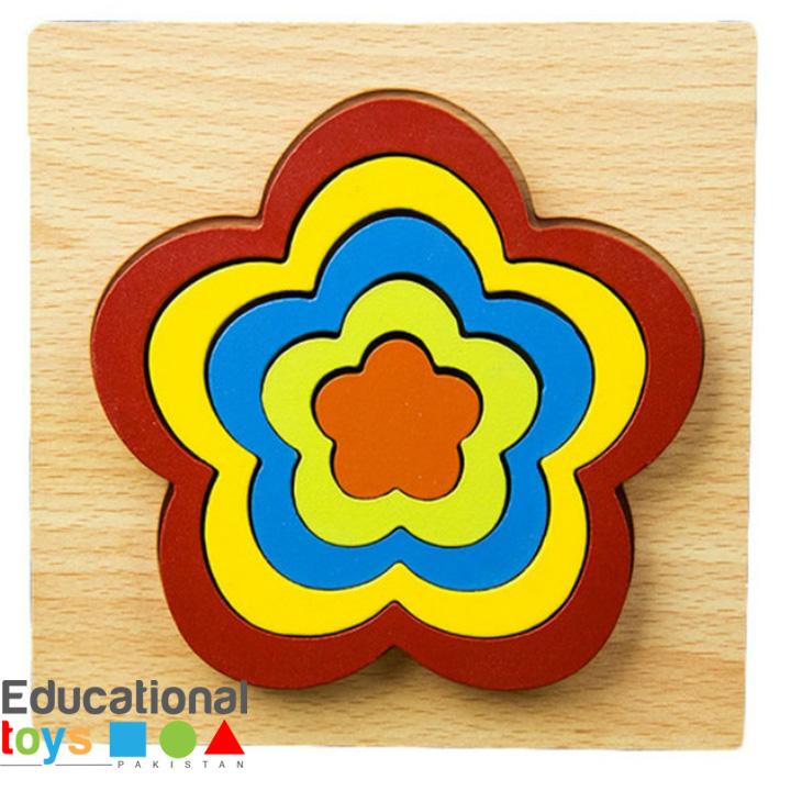 wooden-geometric-shape-puzzle-flower