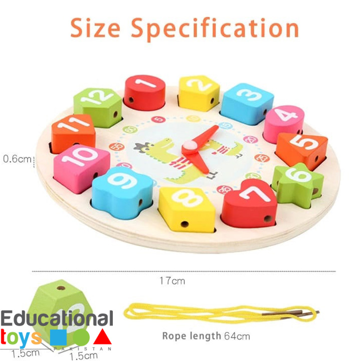 wooden-learning-clock-with-lacing-3