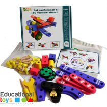 Wooden Nut Combination Assembly Toy