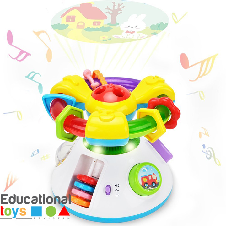 2 in 1 Music Projection Toy