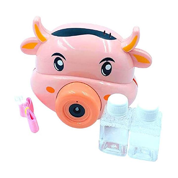 bubble-camera-animal-design-cow