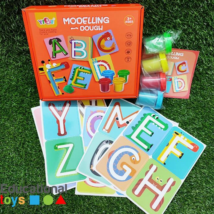 letters-modelling-dough-kit