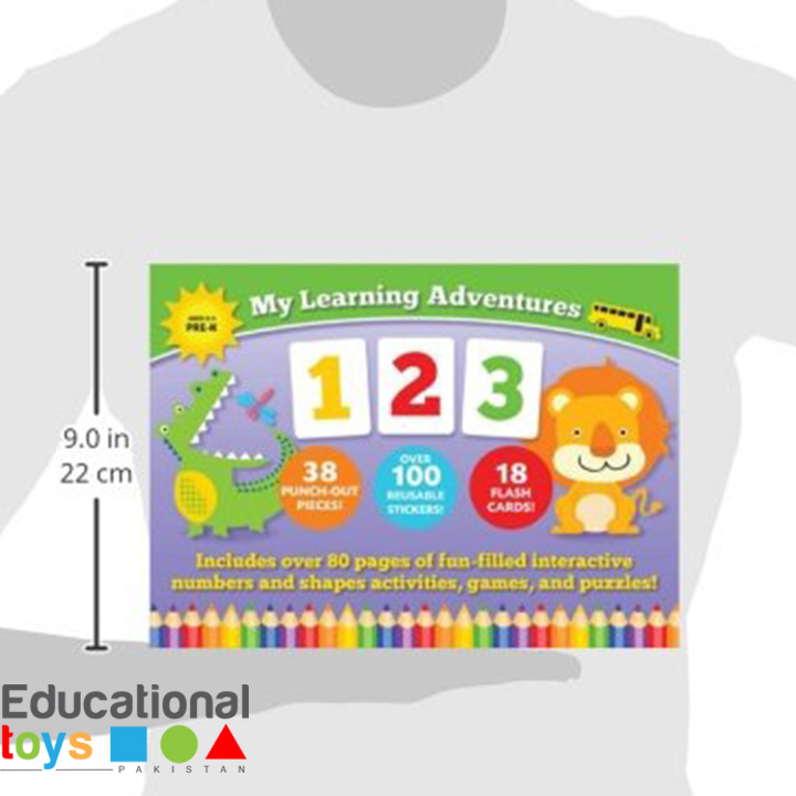 my-learning-adventures-123-book-1