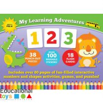My Learning Adventures 123 Book