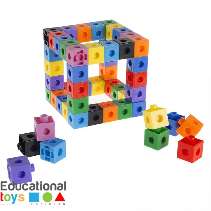 Snap Cube Building Blocks – 50+ pieces