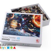 Space Traveler 1000 piece Jigsaw Puzzle