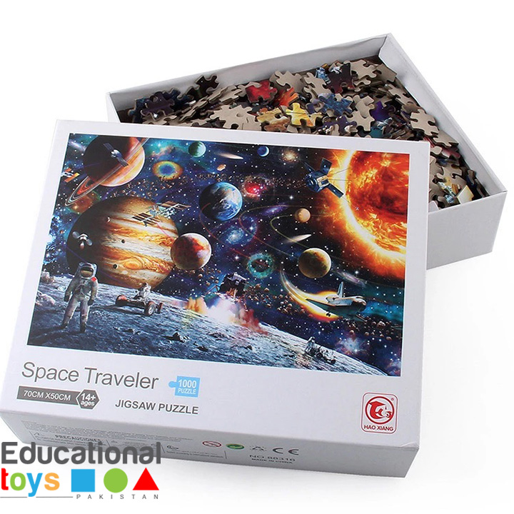 Space Traveler Jigsaw Puzzle – 1000 piece