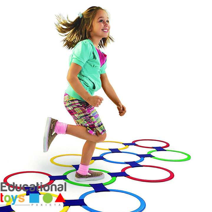 Twister Hopscotch – 13 Rings